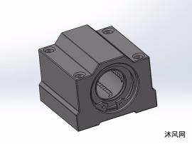 SCS20UU直線光軸滑塊