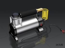 车载充气装置建模模型