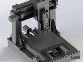 桌面CNC三轴铣床