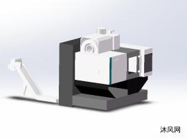 加工中心机床模型