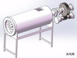 绞肉机模型图