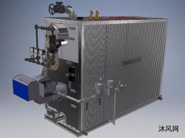 水管锅炉模型