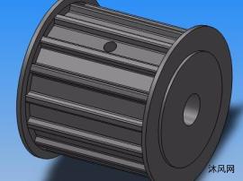 AT10-A型同步带轮模型全集  12种规格