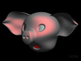 猪头曲面设计