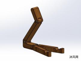 木制手机支架