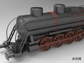 老火车头模型
