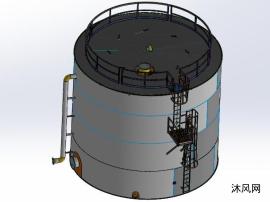 450米水箱模型