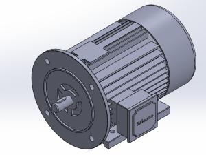 西门子贝得低压电机  带地脚、端盖有缘FS80-355