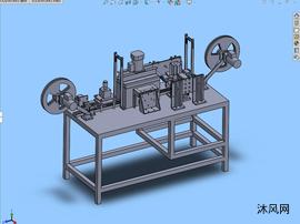 移印机三维图