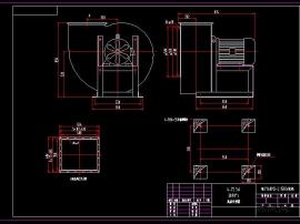 4-72 5A(左右90゜)15KW电机图纸