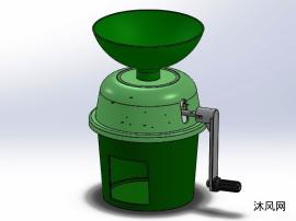 咖啡豆研磨機模型設計