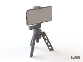 手机折叠脚架模型设计
