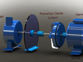 特斯拉涡轮发电机