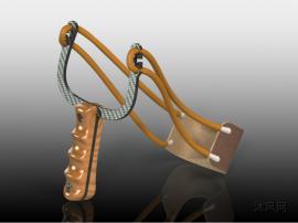 漂亮的弹弓模型设计