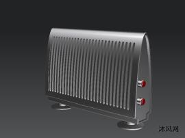 取暖器外观建模模型