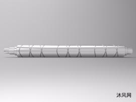 往复丝杆槽辊设计