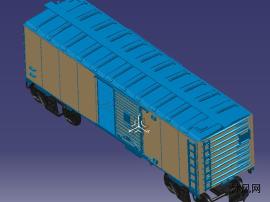 铁路箱式货车
