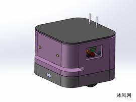 激光导航AGV自动引导运输小车