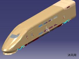 双层动车模型
