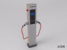 汽车充电桩设计建模