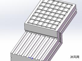 一種z型防積水路面磚