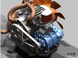 转子发动机inventor模型