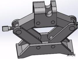 剪式千斤顶简单结构原理