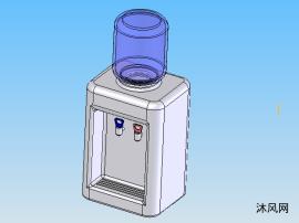 飲水機三維建模