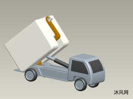 自装卸垃圾清理车设计