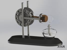 斯特林发动机图纸设计
