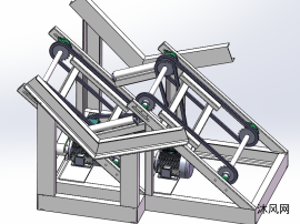 木料分拣单根输送装置