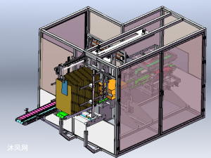 全自动堆垛装箱封箱机