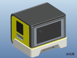 微信照片打印机三维模型图纸