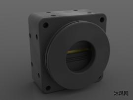 工业摄像头三维模型