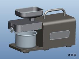 不銹鋼榨汁機三維模型圖紙