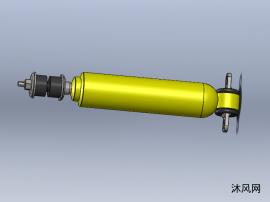 气动减震器模型