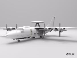 武装预警机模型