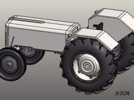 sw拖拉机模型