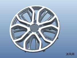 玩具车汽车轮毂