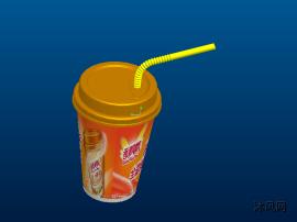日常饮料系列之 香飘飘奶茶 3D模型