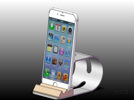手機支架三維模型