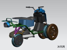 油电混动摩托车