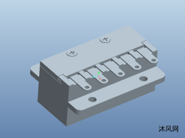连接器插座模型