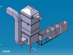 30吨锅炉用简易静电除尘器