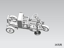 道路清扫车模型
