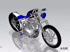 雅马哈摩托车制作模型