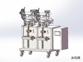 雙工位自動灌裝機