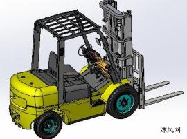 原创3吨内燃平衡重叉车