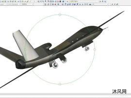 一款国产无人机验证机型AUTOCAD模型文件