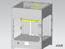双喷头大尺寸3D打印机乐虎国际娱乐 远程MakerBot结构